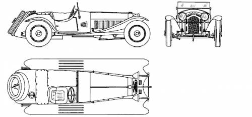 Alfa Romeo 2.3 Spider (1931)