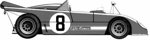 Alfa Romeo 33 TT 3 Le Mans (1972)