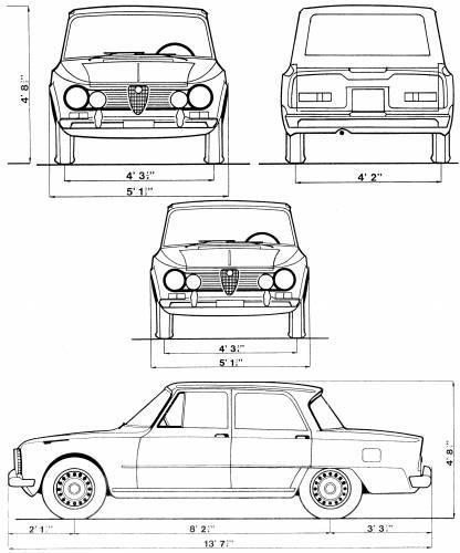 Alfa Romeo Giulia Sedan (1962)