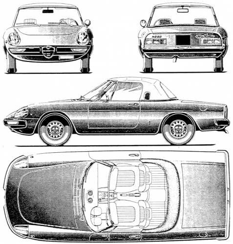 Blueprints > Cars > Alfa Romeo > Alfa Romeo Spider (1971