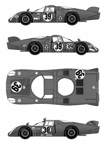 Alfa Romeo Tipo 33 Le Mans Le Mans (1968)