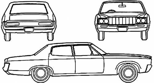AMC Ambassador 4-Door Sedan (1970)