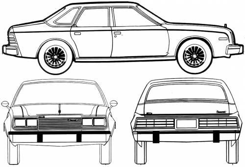 AMC Concord 4-Door Sedan (1980)
