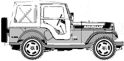 AMC Jeep CJ5 Renegade