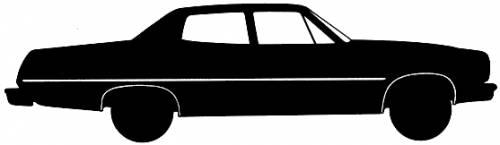 AMC Matador 4-Door Sedan (1974)