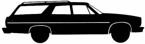AMC Matador Station Wagon (1974)