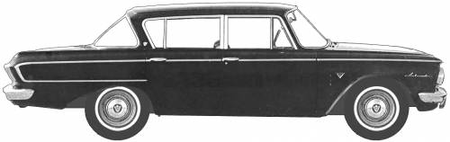 AMC Rambler Ambassador 4-Door Sedan (1962)