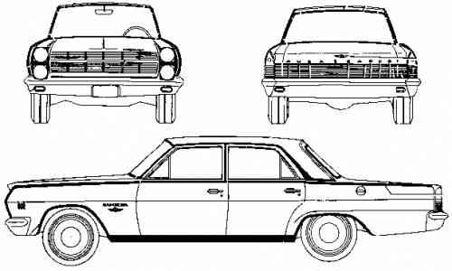 AMC Rambler Ambassador 990