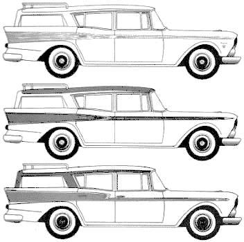 AMC Rambler Ambassador Station Wagon (1959)