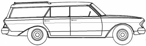 AMC Rambler Ambassador Station Wagon (1963)