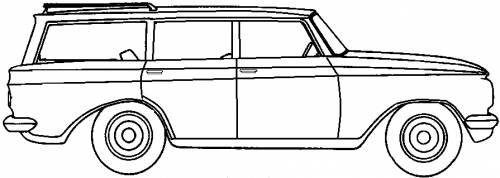 AMC Rambler American 440 4-Door Station Wagon (1963)