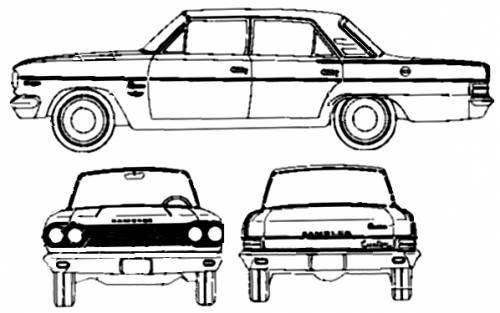 AMC Rambler Classic 330 4-Door Sedan (1965)