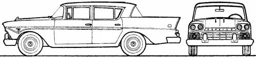 AMC Rambler Classic 4-Door Sedan (1959)