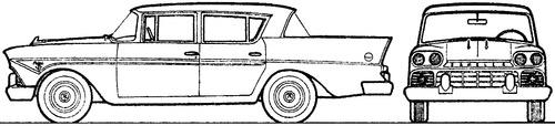 AMC Rambler Classic 4-Door Sedan (1961)