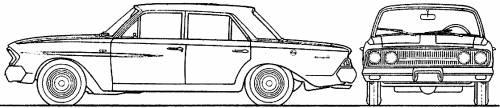 AMC Rambler Classic 770 4-Door Sedan (1963)