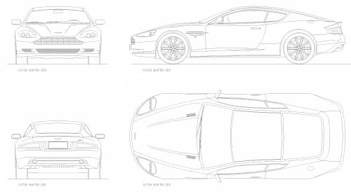 Aston martin db9  2010 furthermore Car Blueprints Aston Martin likewise Aston martin db9  2005 also 227 Tesla Model S furthermore 745838388259286405. on aston martin db9 dimensions