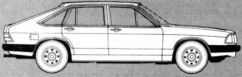 Audi 100 Avant 1600l (1981)
