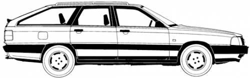 Audi 100 Avant (1989)