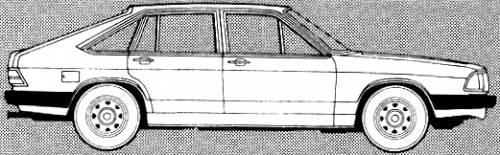 Audi 100 Avant L 5S (1980)