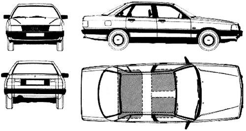 Audi 100 C3 (1982)