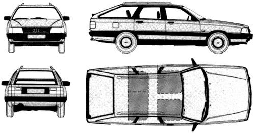 Audi 100 C3 Avant (1982)