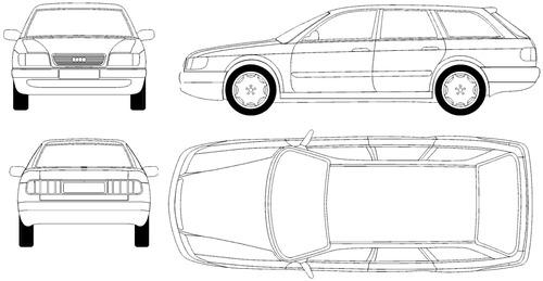 Audi 100 C4 Avant (1990)