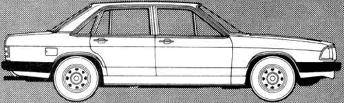 Audi 100 CD 5E (1981)