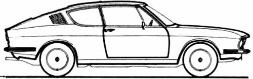 Audi 100 Coupe (1973)