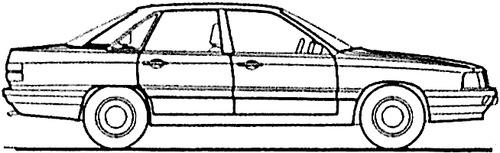 Audi 100 CS (1983)