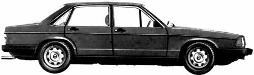 Audi 100 GL5E (1976)