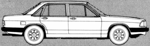 Audi 100 GL 5E (1980)