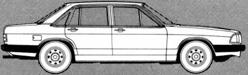 Audi 100 GL 5S (1980)