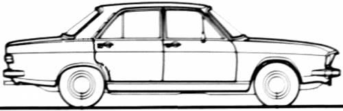 Audi 100 LS (1972)