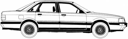 Audi 100 V8 (1989)