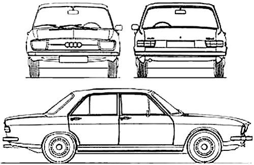 Audi 100LS (1973)