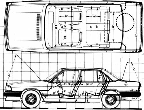 Audi 200 5E (1981)
