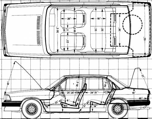 Audi 200 5T Automatic (1980)