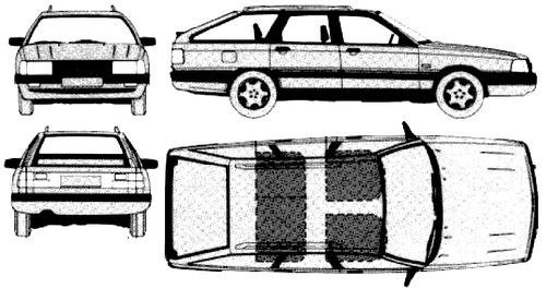 Audi 200 C3 Avant (1989)