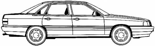 Audi 200 Turbo Quattro (1987)