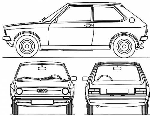 Audi 50 (1974)