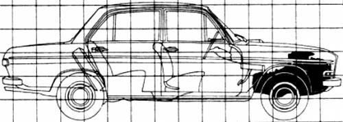 Audi 70 GT (1967)