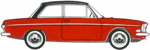 Audi 75 2-Door (1969)