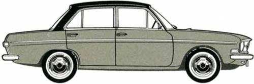 Audi 75 4-Door (1969)