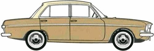 Audi 75 4-Door [2] (1969)