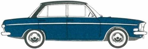 Audi 75 4-Door [3] (1969)