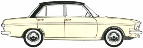 Audi 75 4-Door [4] (1969)