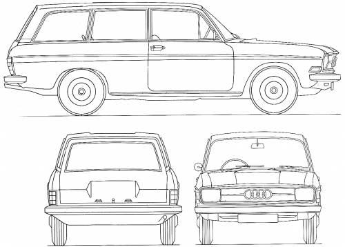 Audi 75 Variant (1972)