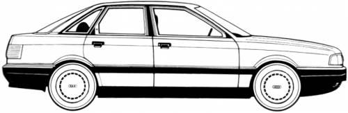 Audi 80 1.8E (1988)