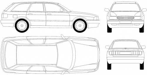 Audi 80 Avant (1987)