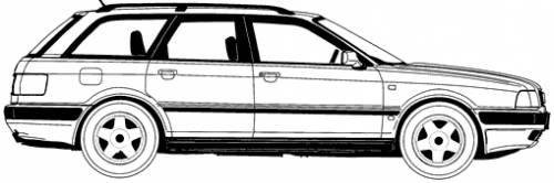 Audi 80 Avant (1994)